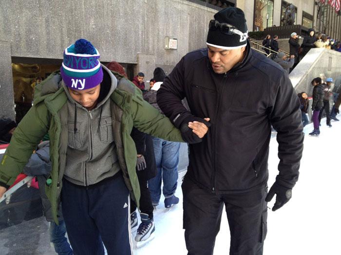 HeartShare – Youth Mentor Program visit to The Rink at Rockefeller Center
